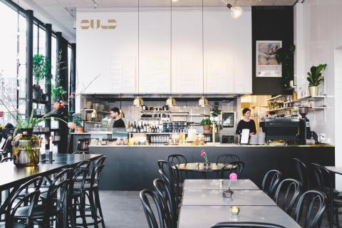 Guld Kaffe & kök på Sven-Harrys konstmuseum
