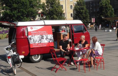 Vi söker nya mystery shoppers under Iron Man i Kalmar
