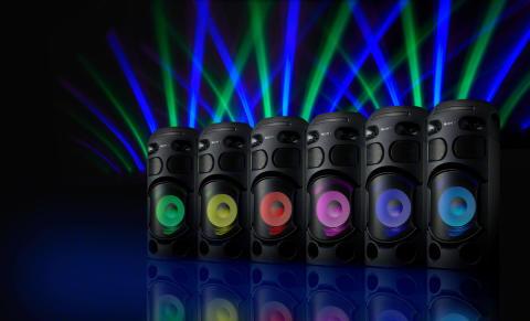 Organize a festa do ano com um dos novos sistemas de áudio em casa de alta potência da Sony