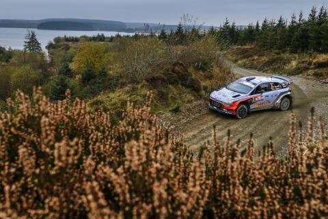 Hyundai Motorsport - Wales Rally GB