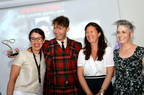Nya deckarpriset Crimetime Specsavers Award 2015 går till Stefan Ahnhem
