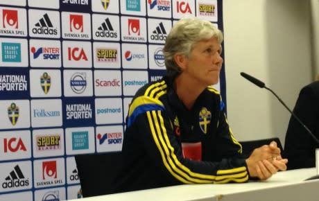 Pia Sundhage i fotbollens tjänst