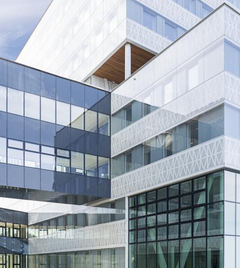D+H Svenskas roll i bygget av Sveriges största kontor