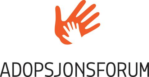 Adopsjonsforums logo som tiff
