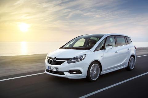 Nya Opel Zafira - bekväm transport med uppkopplad komfort