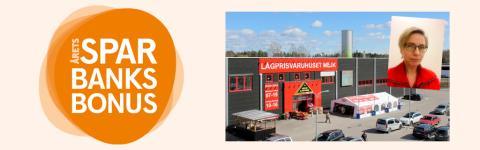 Nu kommer Sparbanksbonusen till 10 000 trogna kunder  – och 1 000 000 kronor till den lokala handeln!