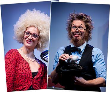 Evenemangstips - Jecko & Jessie uppträder på Kolmården