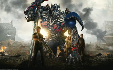 TRANSFORMERS: AGE OF EXTINCTION - Sci-fi action med Mark Wahlberg