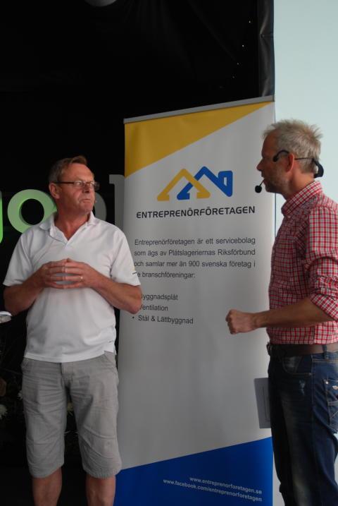 Thomas Dahlberg och Fredrik Berling