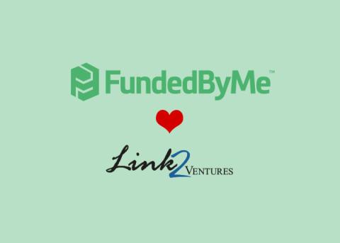 Link2Ventures invests in FundedByMe
