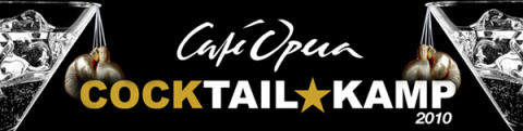 Café Opera Cocktailkamp - Sveriges bästa bartendertävling