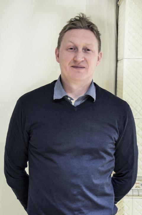 Glenn Björklund, forskare Nationellt Vintersportcentrum i Östersund