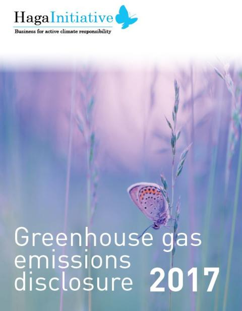 15 companies account for eight percent of Sweden's decrease in GHG emissions since 2010