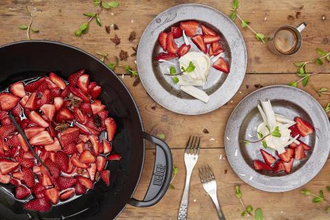 Frukt og bær fra grillen – perfekt snacks på glohete dager