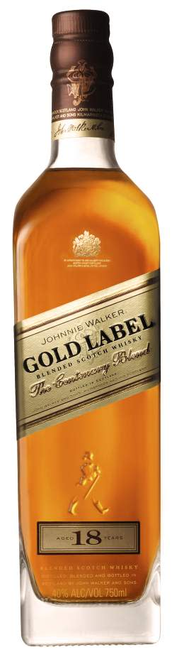 JOHNNIE WALKER® GOLD LABEL, 70 cl 40,0 Vol %