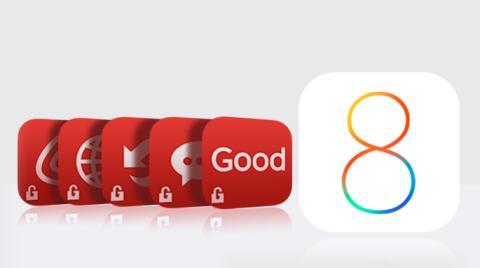 Good Technologys appar redo för iOS 8