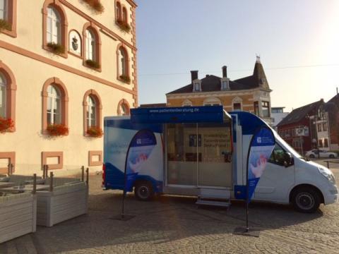Beratungsmobil der Unabhängigen Patientenberatung kommt am 25. September nach St. Wendel.