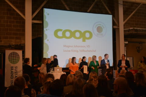 Coop is number 1 on the 2018 Sustainable Brand Index