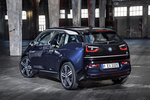 Den opdaterede BMW i3