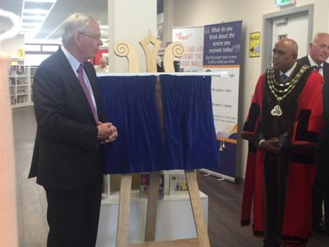 ellenor involved in the Royal opening of Swanley Link