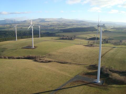 Inauguration du parc éolien de Bajouve