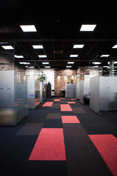 Ekstrands nya kontorslokaler