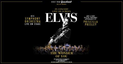 Elvis, live on screen med symfoniorkester – The Wonder of You - till Göteborg och Stockholm 2018