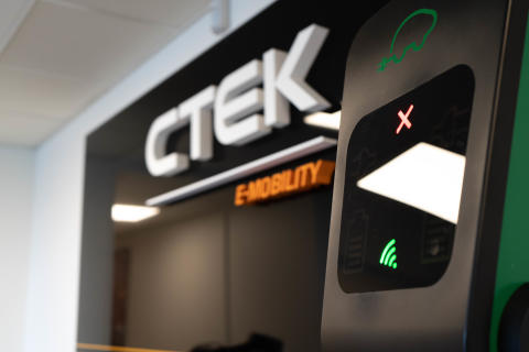 Med nytt forskningscenter växer CTEK starkt inom e-mobility