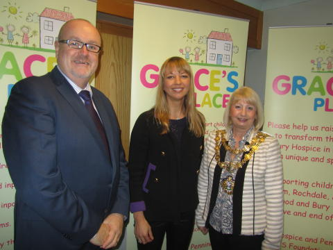 Council leader's funding appeal for children's hospice