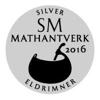 Silver SM i Mathantverk 2016