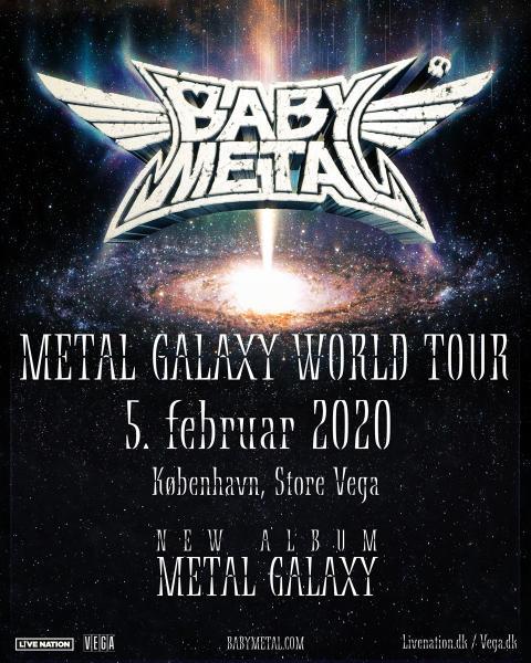 Det japanske kawaii metalband BABYMETAL kommer endelig til Danmark