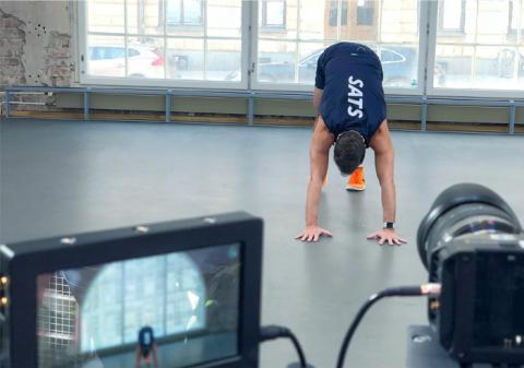 SATS lancerer, som den første aktør i Norden, livestreame træning som du kan træne sammen med en instruktør i din egen stue