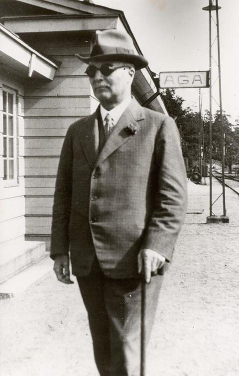 AGA:s grundare Gustaf Dalén.