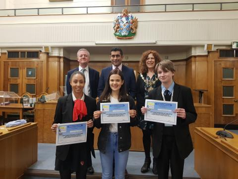 Woodhey pupil wins vote of confidence in UK Youth Parliament