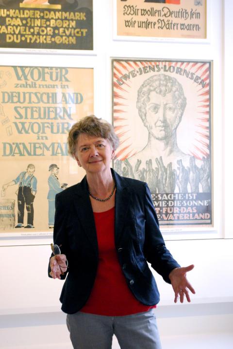 """Inge Adriansen fra Sønderborg Slot - til """"Sønderjysk weekend"""" på Frilandsmuseet"""