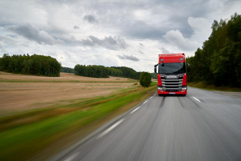 Scania scorer hattrick: Scania R 450 vinder Green Truck 2019