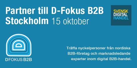 Partner till D-Fokus B2B 2015