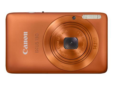 IXUS 130 Orange horisontell