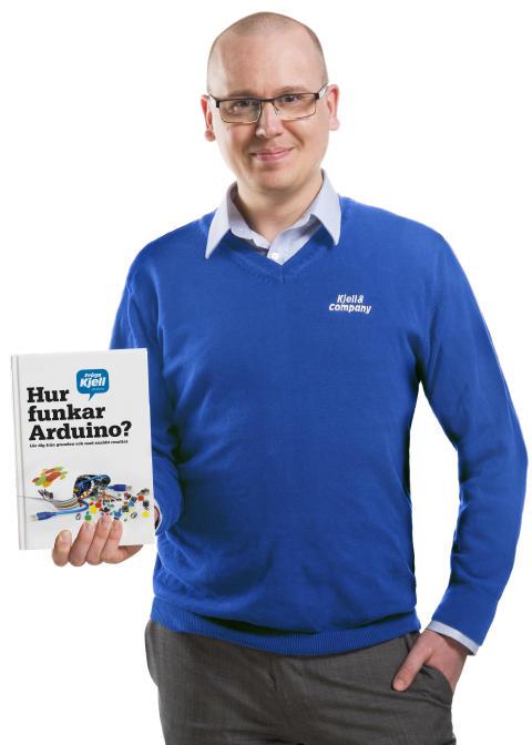 """Karl Emil Nikka med """"Hur funkar Arduino?"""""""