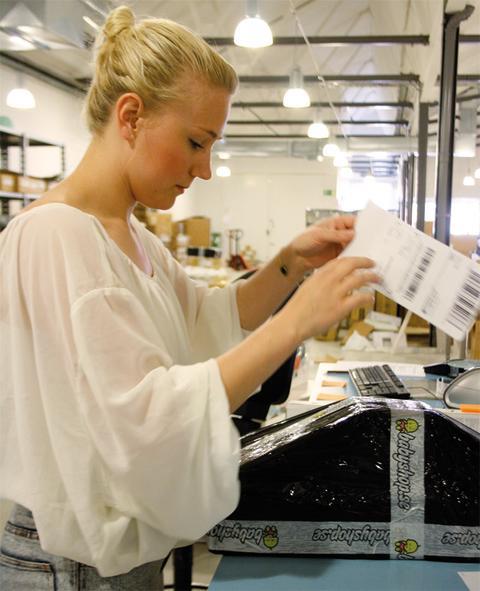 Babyshop.se har skapat ett effektivt flöde i sin webbutik från beställning till leverans