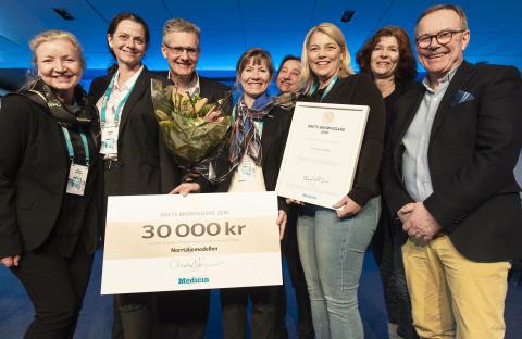 Norrtäljemodellen prisad som Årets brobyggare i hälso- och sjukvården
