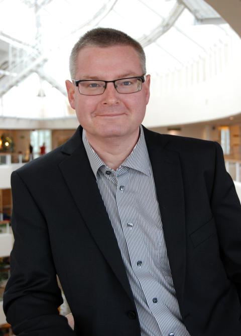 Kommunstyrelsens vice ordförande i Göteborg deltar på Business Arena