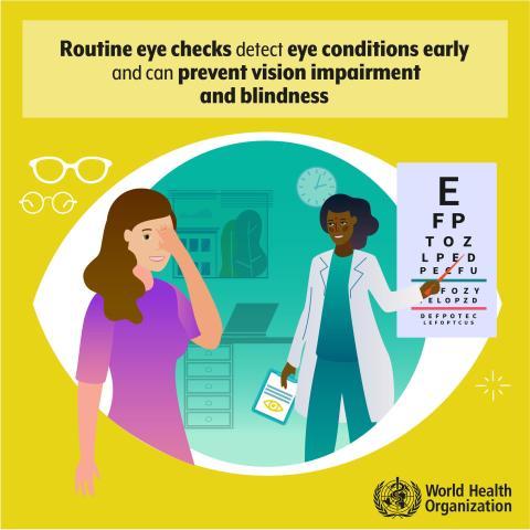 Rutinundersökning kan förhindra nedsatt syn