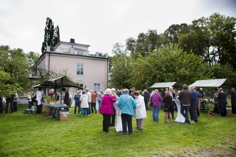 Första spadtaget: Nordanby Äng