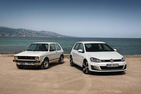 Forty years young: Volkswagen Golf stands the test of time