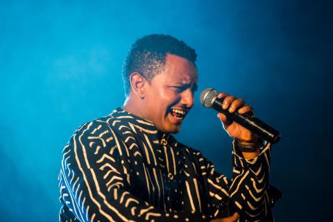 Teddy Afro Photo: Mario Di Bari