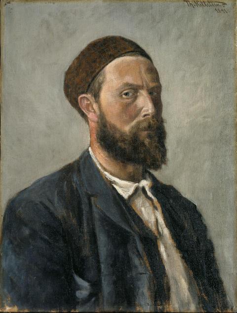 Eventyrrommet. Theodor Kittelsen, Selvportrett, 1891