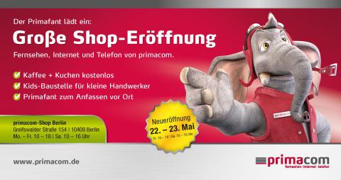 Große Shop-Eröffnung in Berlin