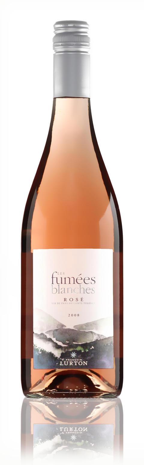 Les Fumées Blanches Rosé 2008 – Succévitt blir rosa!