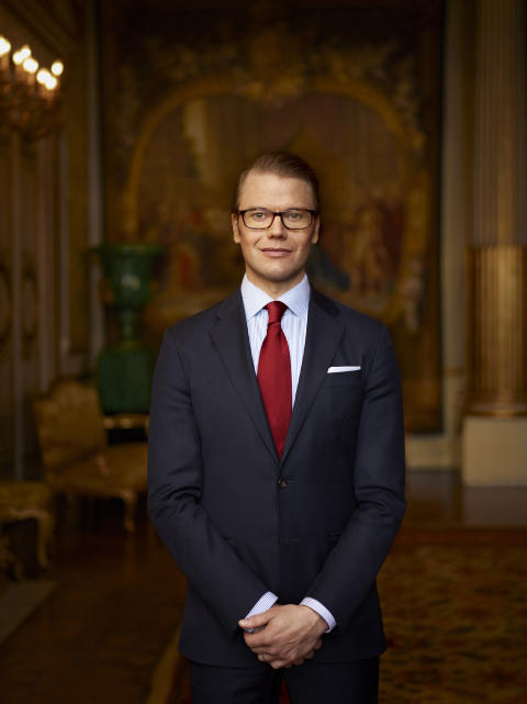 H.K.H. Prins Daniel delar ut Hjärt-Lungfondens Stora forskningsanslag på 15 miljoner kronor